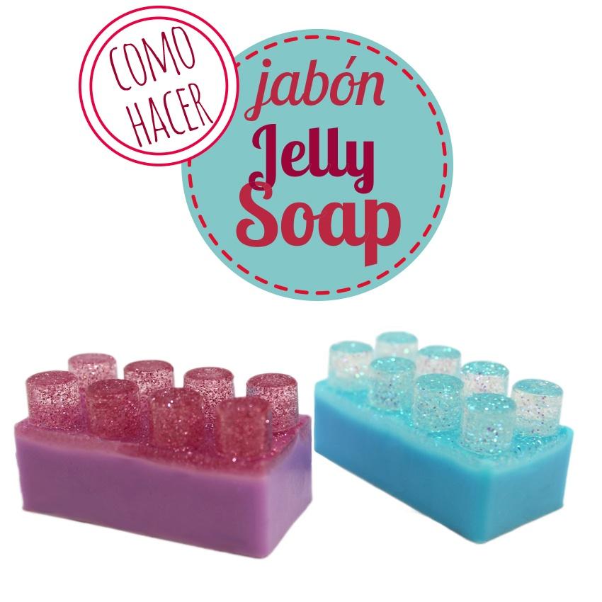 Hacer jabón Jelly Soap