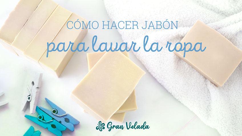Tutorial para aprender como hacer como hacer jabon para lavar ropa en casa con vídeo y paso a paso