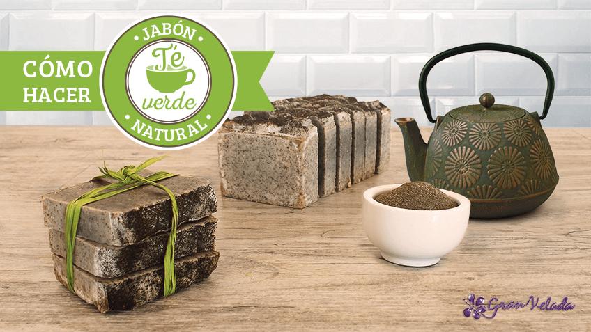 Jabón enriquecido con té verde