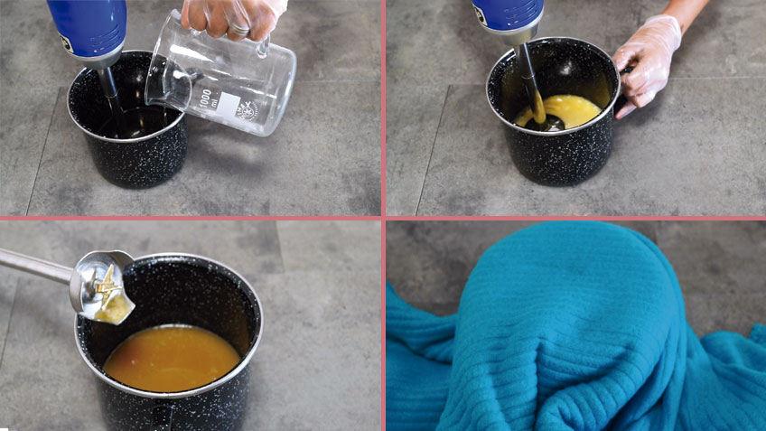 procedimiento de como hacer un jabon casero