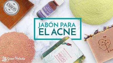 Jabon para el acne