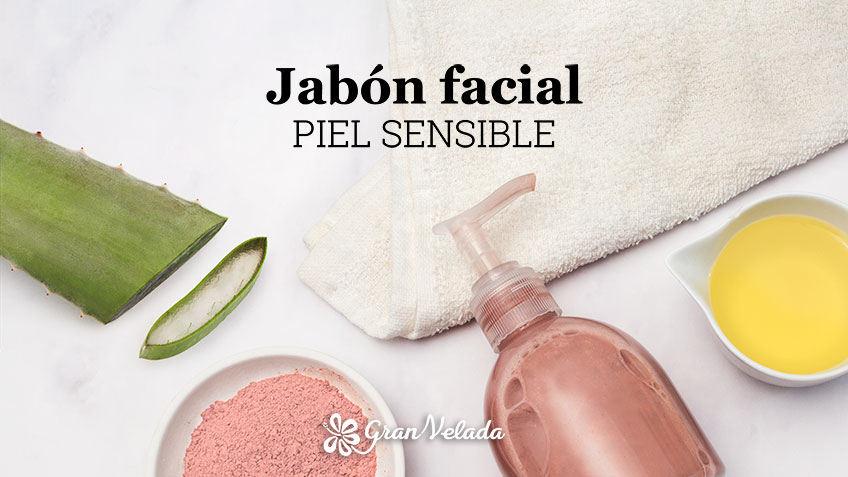 Tutorial y paso a paso para aprender como hacer jabon facial piel sensible con video y paso a paso