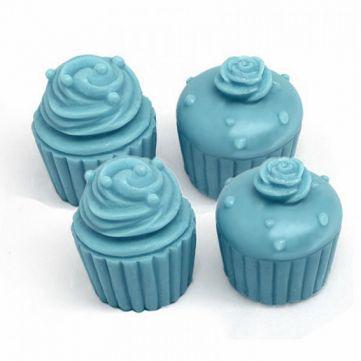 Molde 4 cupcakes