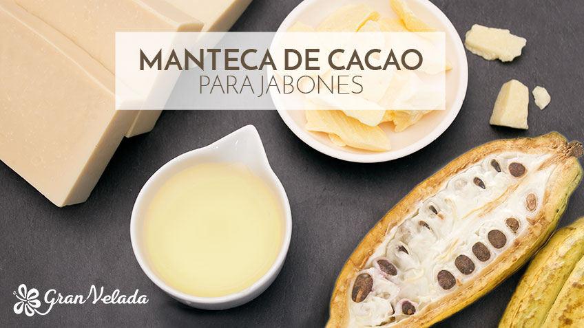 Manteca de cacao para jabones