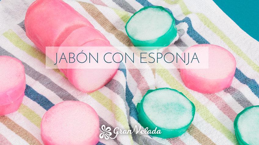 Jabon con esponja