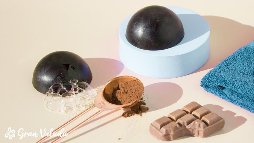 Hacer jabon de cacao