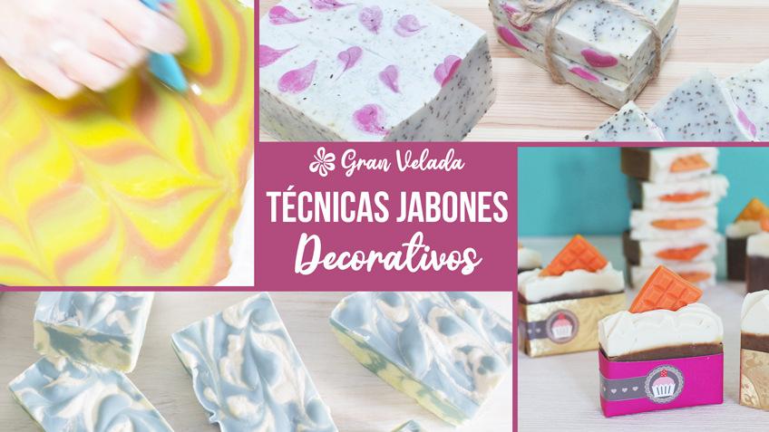 Tecnicas para hacer jabones decorativos