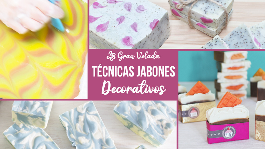 Tecnicas jabones decorativos