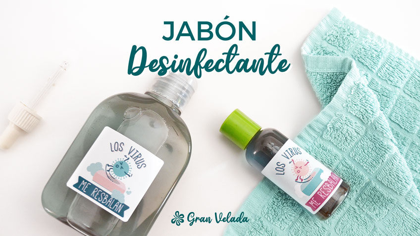 Jabon desinfectante