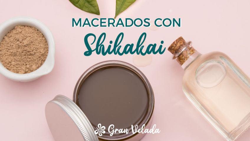 Macerados con shikakai