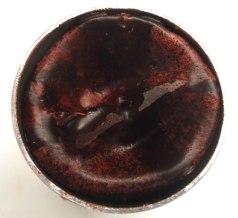Rechupe o contraccion de la parafina al hacer la vela.