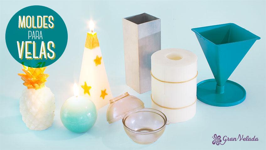 441f3cdb3fc Moldes para hacer velas  como usar los diferentes tipos