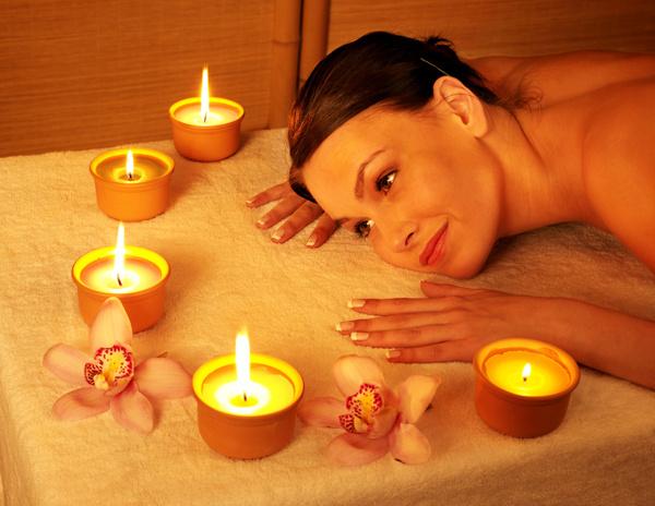 velas de masaje