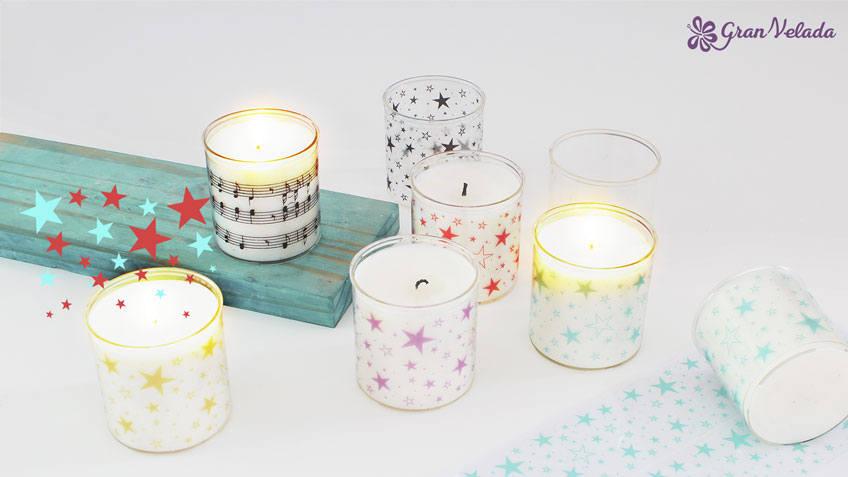 Como hacer velas aromaticas de Navidad