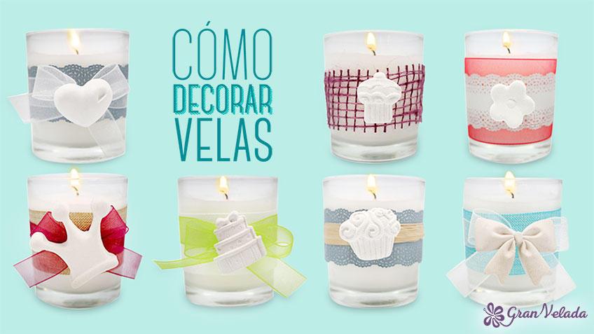 Ideas para aprender como decorar velas paso a paso - Decorar con velas ...