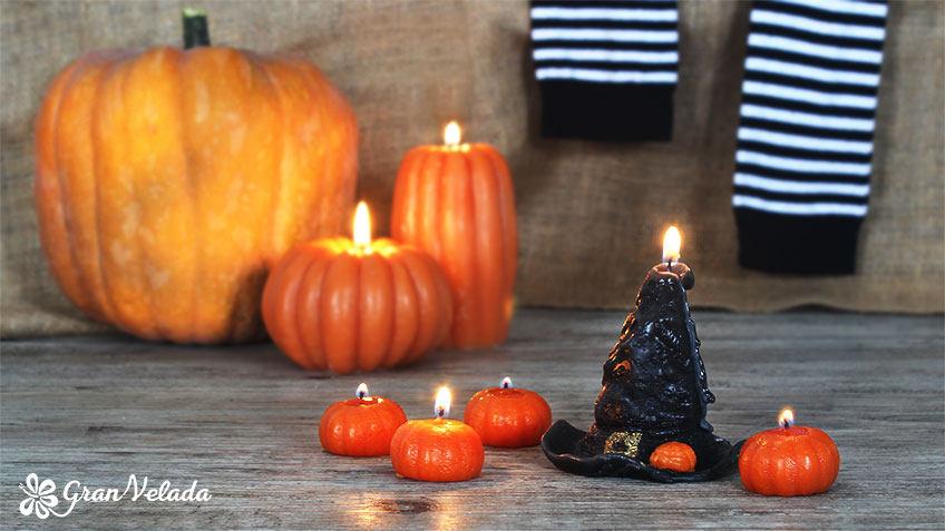 Velas de Halloween
