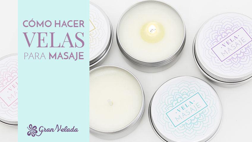 Cómo hacer velas para masaje