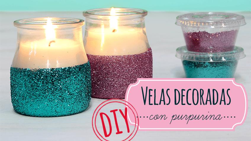 Aprende a hacer velas arom ticas caseras paso a paso es - Copas decoradas con velas ...