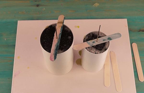 Cómo hacer velas artesanales con aspecto rústico