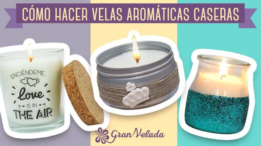 Aprende a hacer velas arom ticas caseras paso a paso es muy f cil - Aromas para velas ...