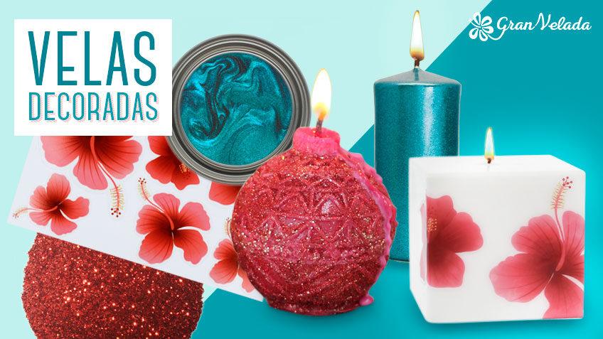 tutorial de como hacer velas decoradas con purpurina y otros materiales velas decoradas - Velas Decoradas