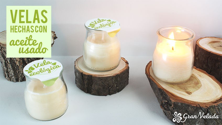 Aprende a hacer velas con aceite usado y utilizado en cocina - Como hacer velas en casa ...