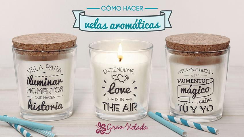 Hacer velas con aroma