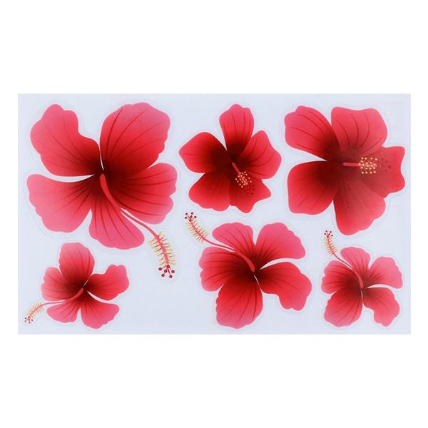 Hibiscus para decoupage