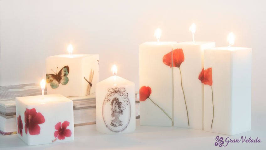 Como decorar velas
