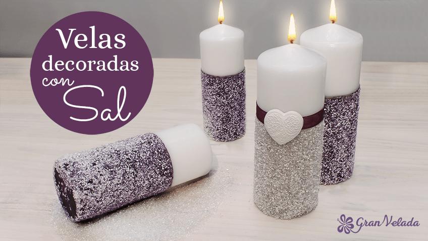 Hacer Velas Decoradas Con Purpurina En Casa Ideas Faciles - Ideas-para-decorar-velas