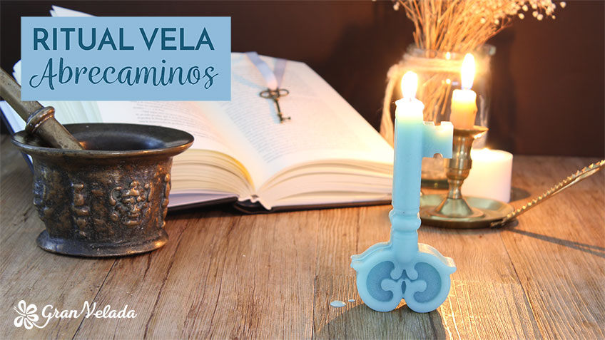 Vela llave abrecaminos