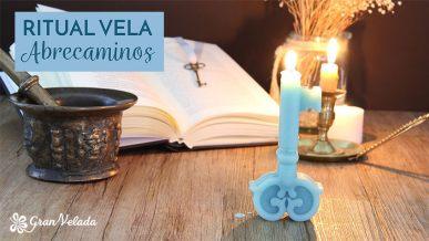 Tutorial para hacer Vela llave abrecaminos para rituales