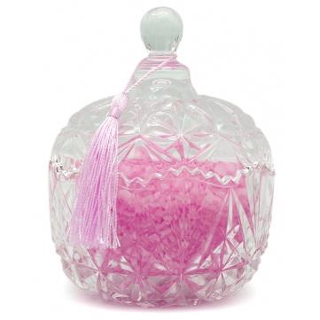 Tarro de cristal vintage