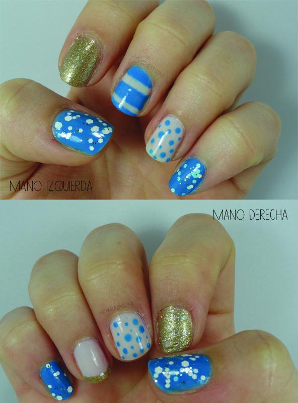 Nail Art: Vamos Argentina!