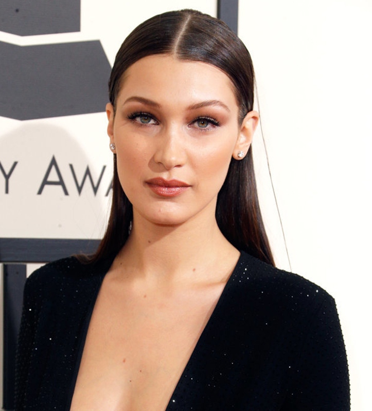 grammys 2016 fashion beauty bella hadid