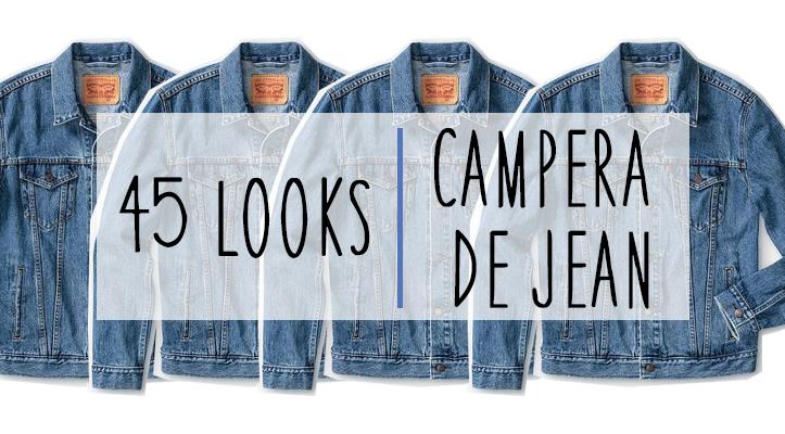 Cómo Usar: 45 looks con campera de jean