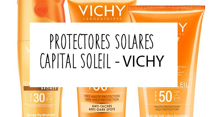 Novedades: protectores solares de Vichy – Capital Soleil