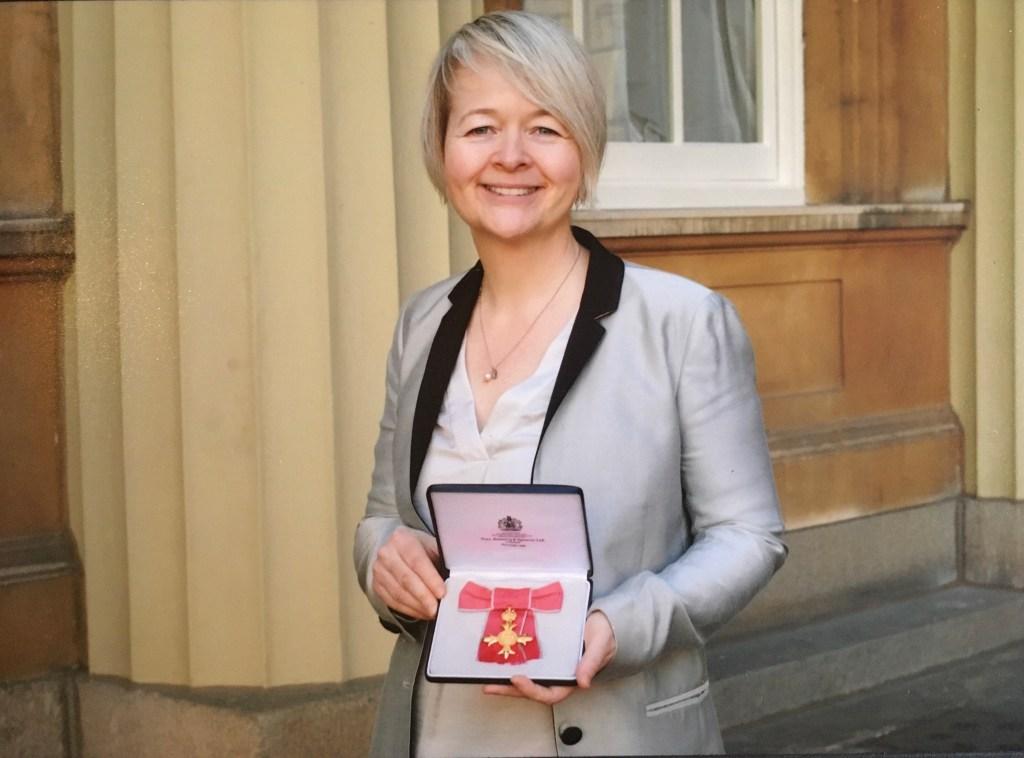OBE Sarah Waters