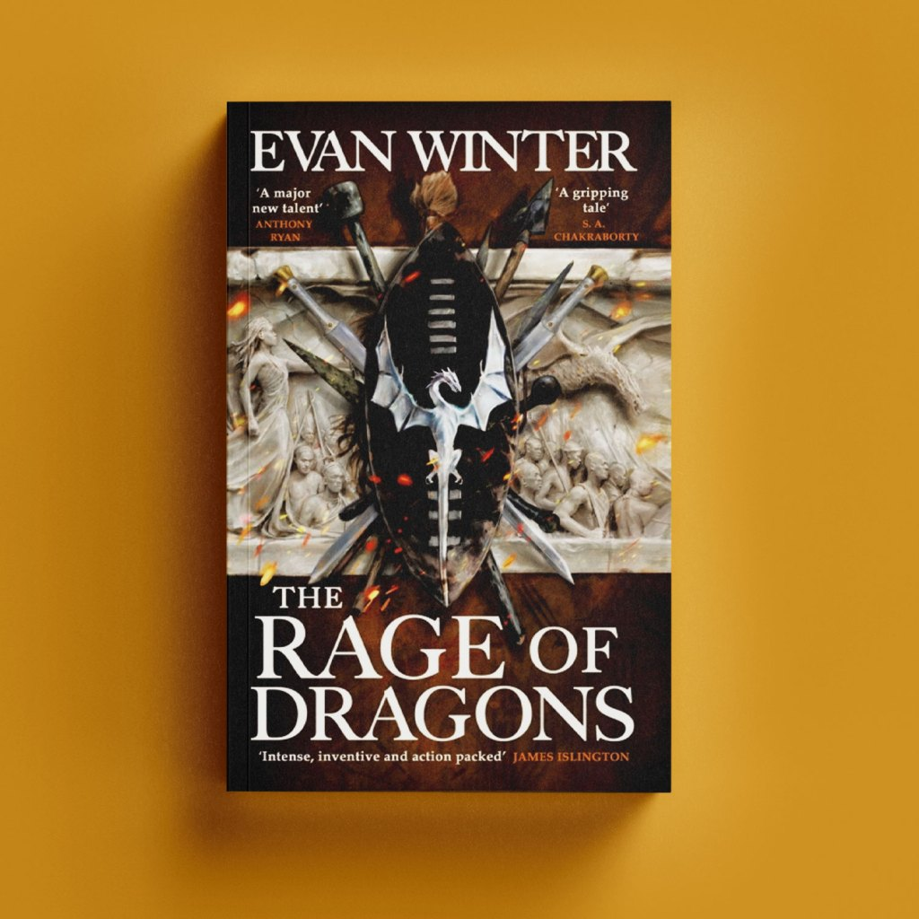 The Rage of Dragons by Evan Winter