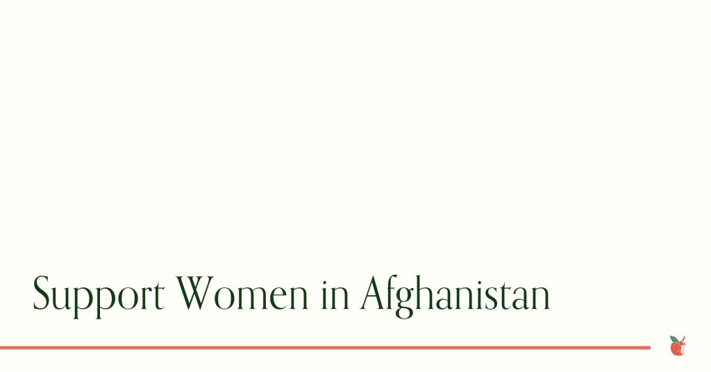 Support Women in Afghanistan