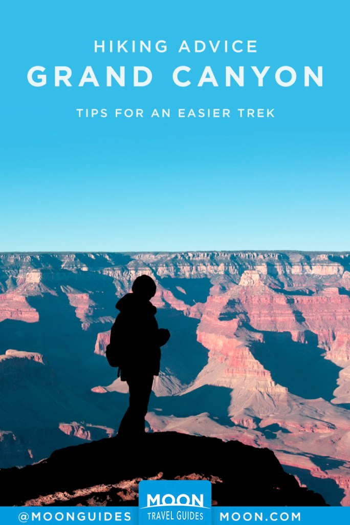 grand canyon hiking tips pinterest graphic