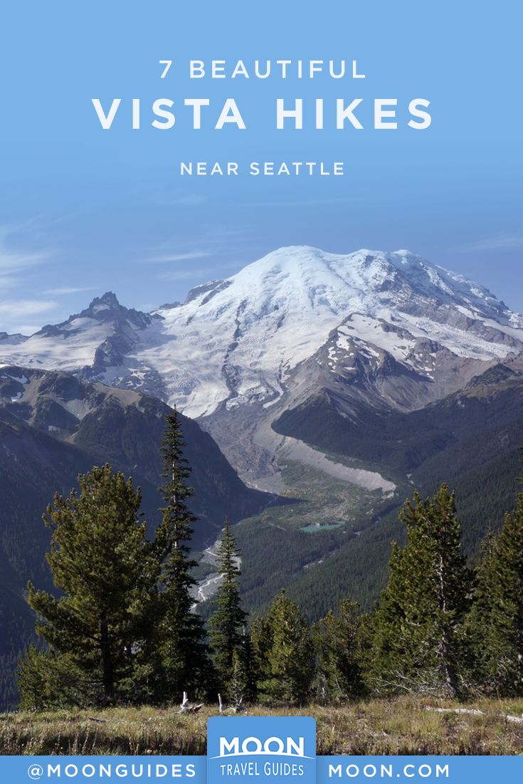 7 Vista Hikes Near Seattle pinterest graphic
