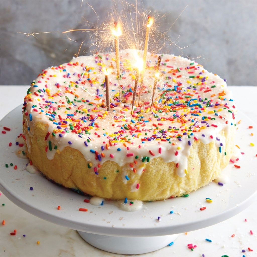 Magical Confetti Birthday Cake