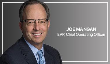Joe Mangan - EVP, Chief Operating Officer