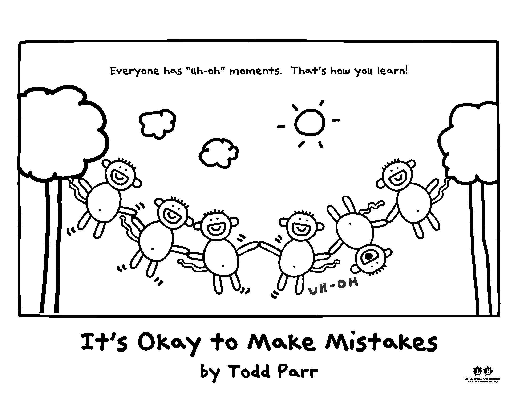 It S Okay To Make Mistakes By Todd Parr