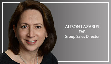 Alison Lazarus - EVP, Group Sales Director