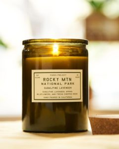 Rocky Mountain candle