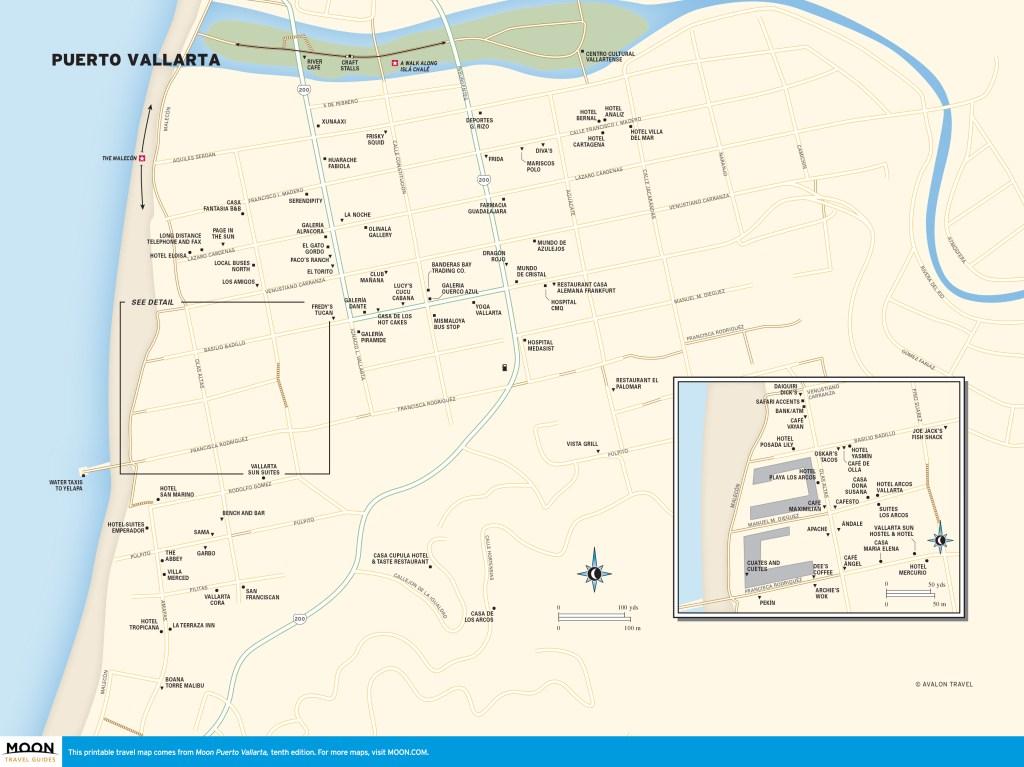 Maps - Puerto Vallarta 10e - Puerto Vallarta