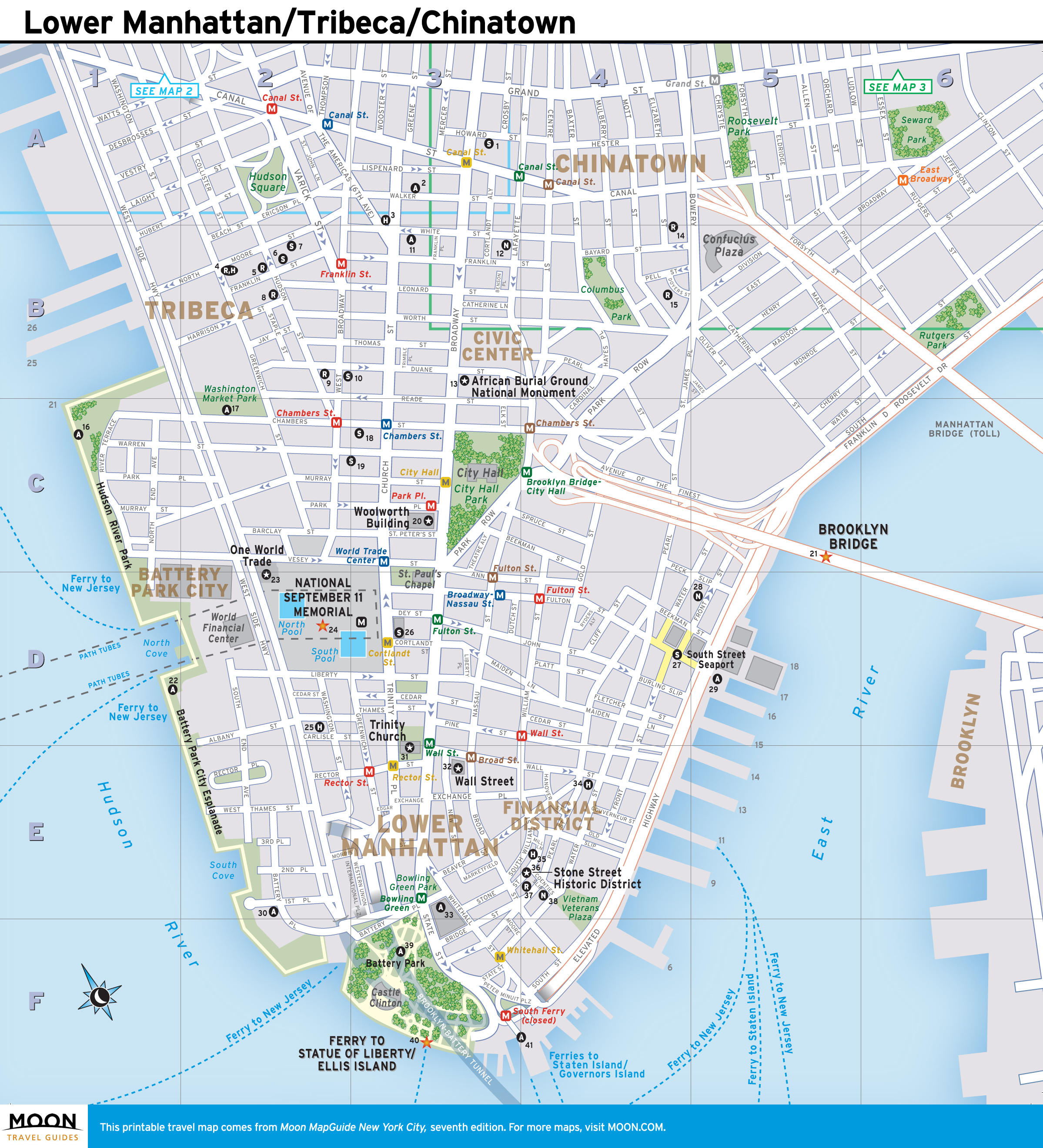 It's just a photo of Manhattan Printable Map intended for walking
