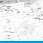 Map of Downtown Louisville, Kentucky